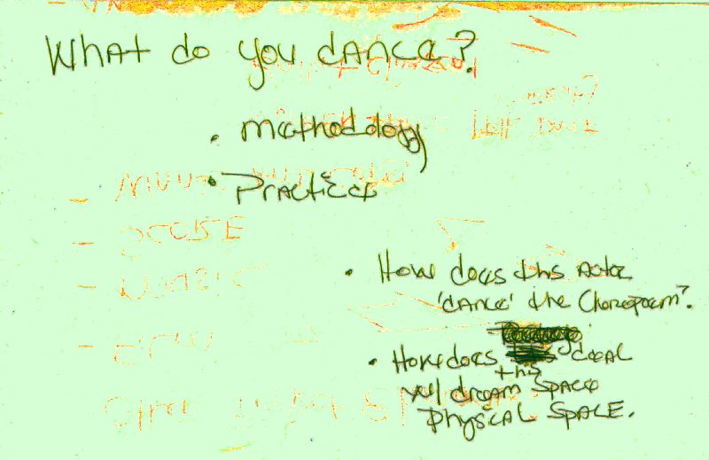 What Do You Dance?